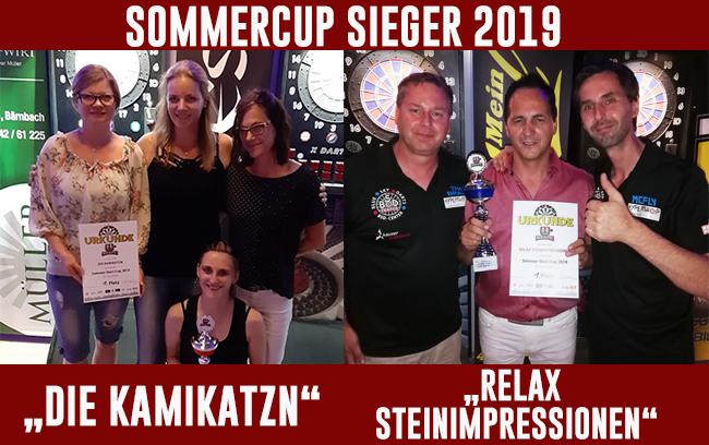 Die Sommercup 2019 Sieger stehen fest
