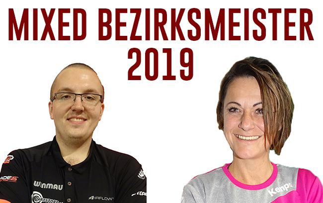 Schlechner Daniel & Resch Carmen Mixed Bezirksmeister 2019