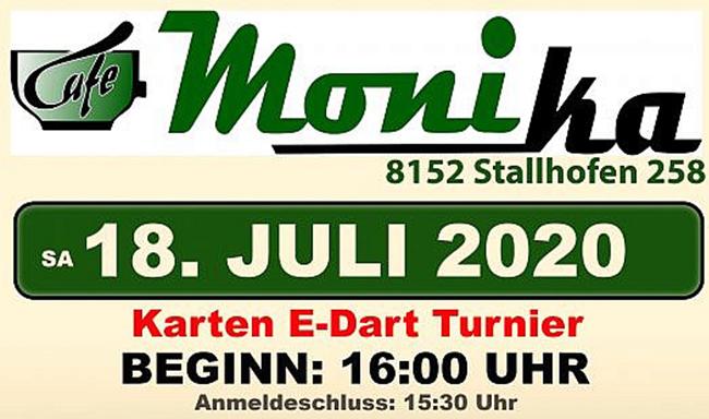 Dart Turnier Cafe Monika
