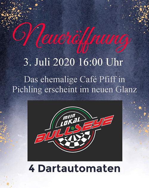 Neues Dart Lokal in Pichling BDSV