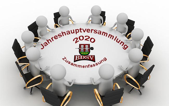 Zusammenfassung JHV 2020