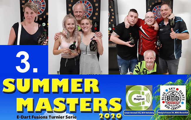 !!! 50 Spieler !!! beim 3. Summer Masters
