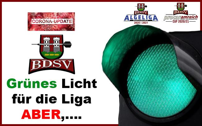 Grünes Licht für den Ligabetrieb – ABER…
