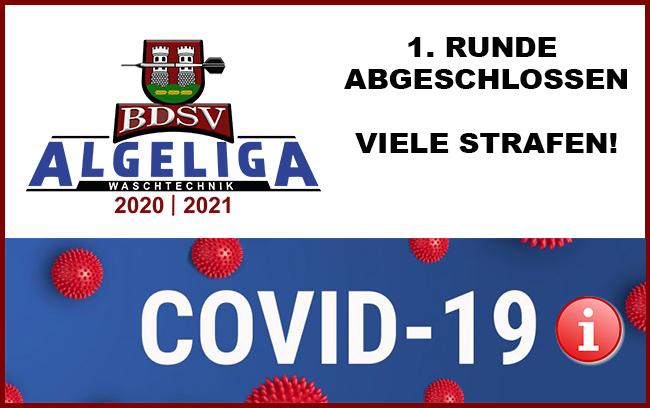 1. Ligarunde abgeschlossen – Info aktuelle Covid Situation