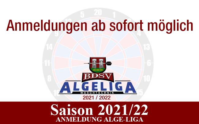 Anmeldung neue Saison 2021/22