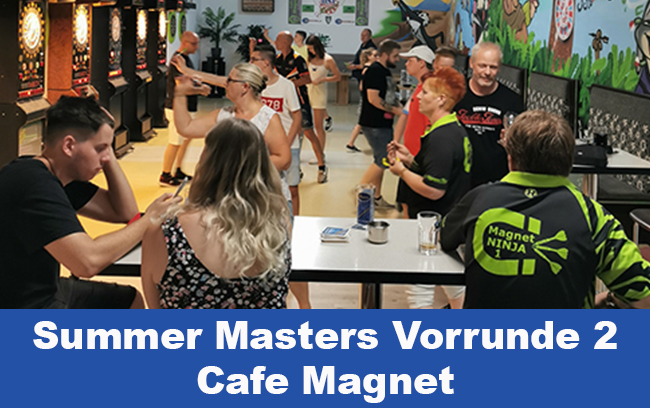 Bericht Summer Masters VR 2 – Cafe Magnet – keine neuen Sieger