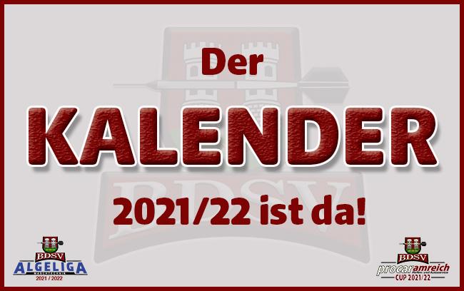 BDSV Kalender Saison 2021/22