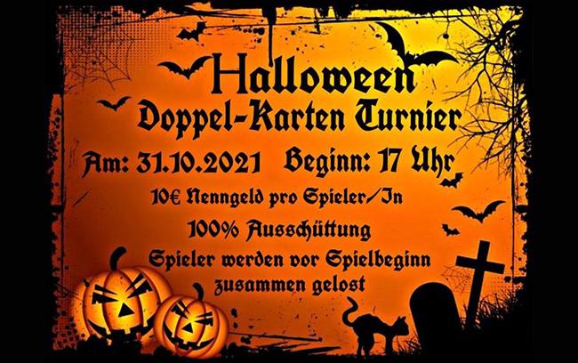 Einladung zum Halloween Dart Turnier im Mein Lokal Bullseye